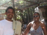 Diane Davis Mikell c/o 1976 and hubby at wild adventures