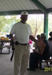 2013 GiveBack to the Richard Arnold High School Alumni Picnic at Sharon Park. I captured this picture of Paul Burney dur