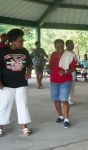 2013 GiveBack to the Richard Arnold High School Alumni Picnic at Sharon Park. I captured this picture of Chandra Young a
