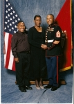 Charles M. Smith, Sr. c/o 1985 with wife of 27 years (Dorlene) and son (Charles Jr.)