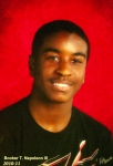 Antionette James Deloach (c/o 1975) son's 9th grade 2010-2011 high school pic - taken October 2010