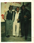 Farmer Roberts, David(Bill)Lee & Thedore Cooper hanging out...Submitted by Farmer Roberts c/o 1974  class of 72 and 74