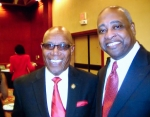Georgia State Representative Mr. Mickey Stephens & Superintendent Dr. Percy Mack...The 1st Richard Arnold Alumni Reunion