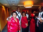 Ms. Tukes, Lonnie Ellison, Ms. Williams, Mr. Hudson, and Farmer Roberts....The 1st Richard Arnold Alumni Reunion Ball at