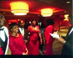 Lonnie Ellison, Ms. Williams, Mr. Hudson and escort, Jackie P. Morgan...The 1st Richard Arnold Alumni Reunion Ball at th