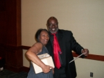 Danny Gregory & Antionette James Deloach at the Registration Table ...The 1st Richard Arnold Alumni Reunion Ball at the