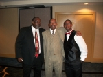 Farmer Roberts, Charles Crawford and Farmer Roberts son Lee Roberts....The 1st Richard Arnold Alumni Reunion Ball at the