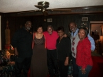 Farmer Roberts, Priscilla Barnes Johnson, Coach Floyd Morris, Angela Newton Moody,Danny Gregory and Antionette James Del