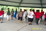2013 GiveBack to the Richard Arnold High School Alumni Picnic at Sharon Park. I captured this picture of alumni and frie