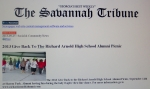 The Give Back to the Richard Arnold High School Alumni Picnic scheduled on September 14, 2013; featured in the Savannah