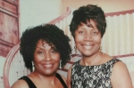 Quovadios James c/o 1973 & her sister Antionette James c/o 1975 attend the 2014 Richard Arnold High School Alumni Gale i